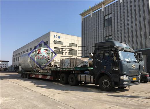 辽宁某生物制药有限公司订购的中药配方颗粒生产线发货